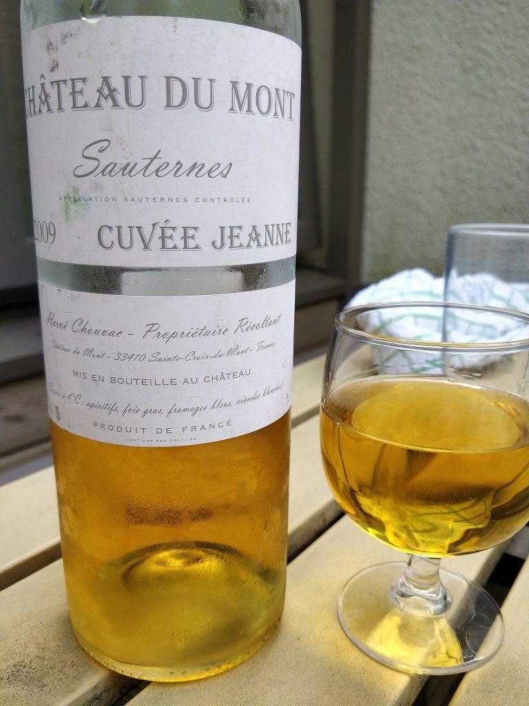 Château du Mont Cuvée Jeanne 2009