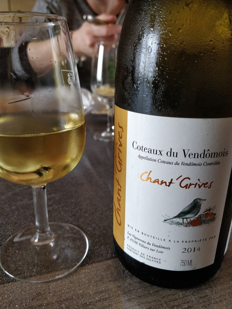 Cave du Vendômois - Chant'Grives 2014