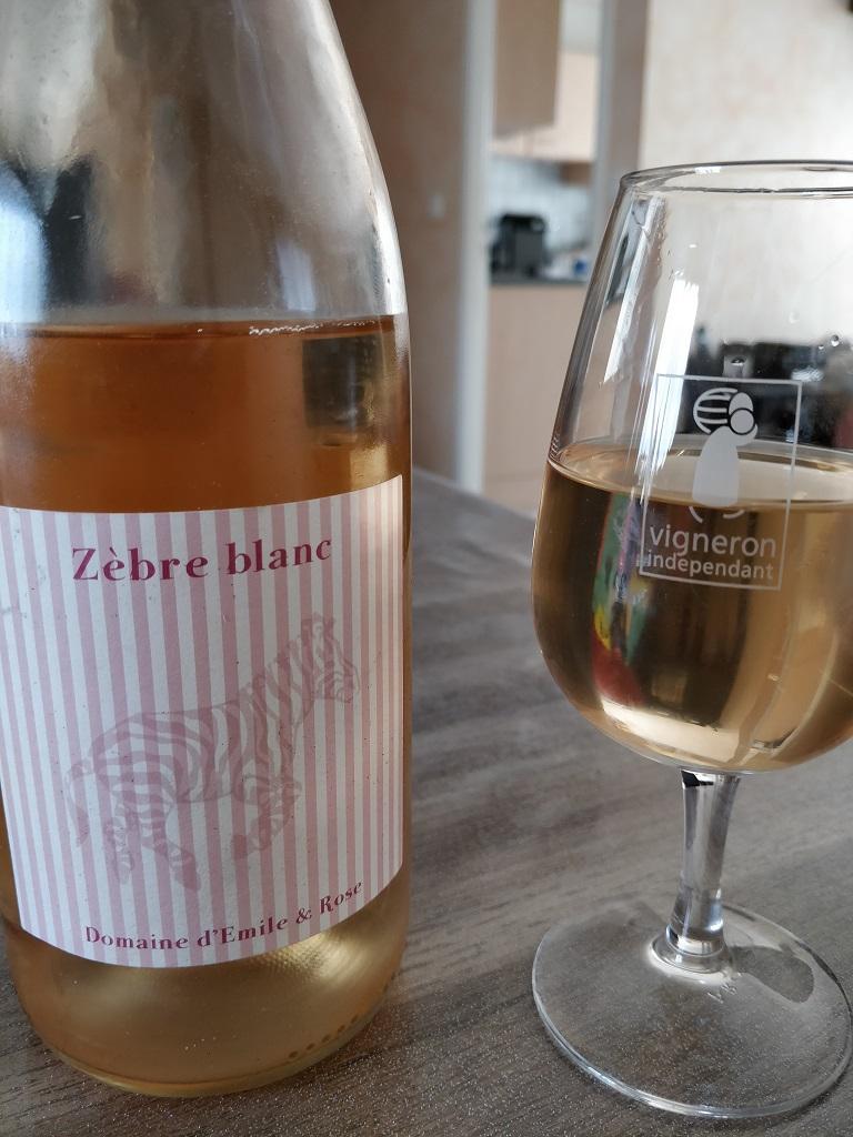 Domaine Emile et Rose - Zébre Blanc