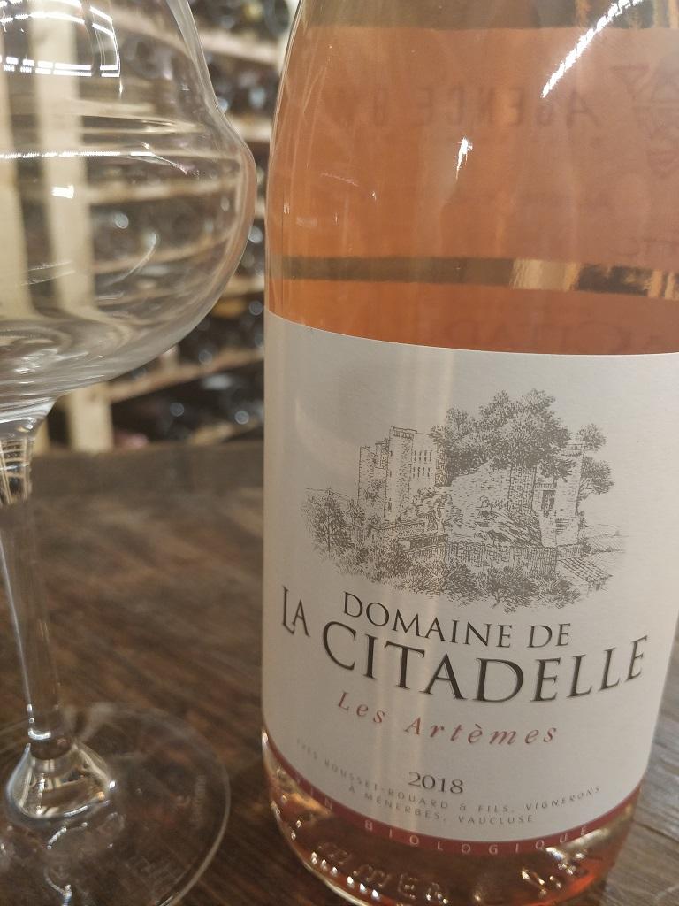 Domaine de la Citadelle - Les Artémes Rosé 2018