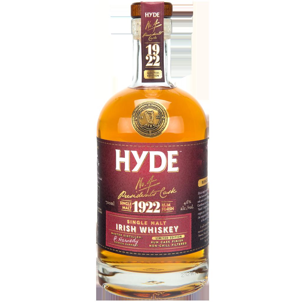 Hyde Irish Whiskey - N°4 Rum Finish