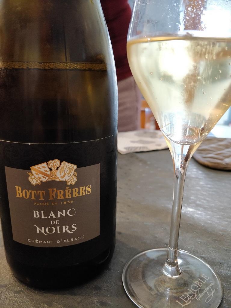 Bott Frère - Crémant d'Alsace Blanc de Noirs