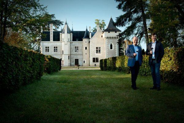 Famille Baudry-Dutour, Château de la Grille
