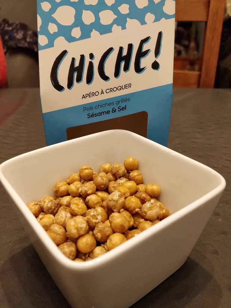 Chiche - Pois-Chiche Grillée Sésame-Sel de Guérande 2