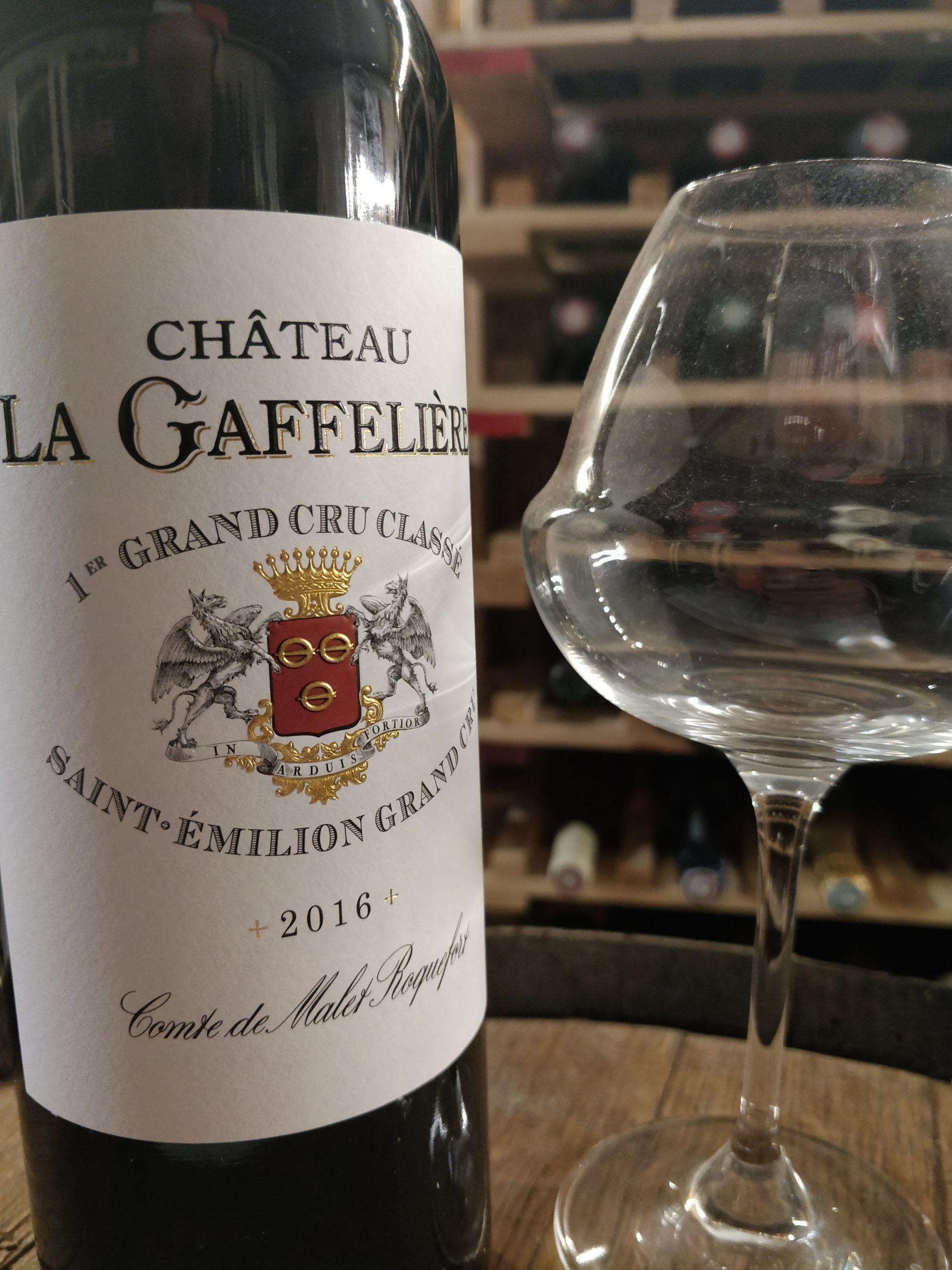 Château La Gaffeliere 2016