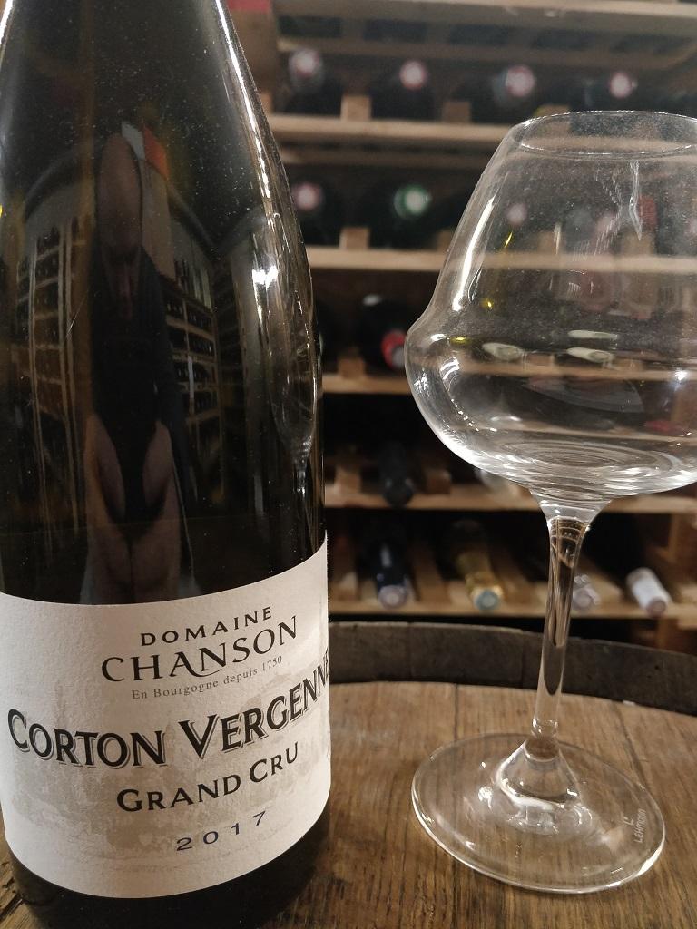 Domaine Chanson Corton Vergennes Grand Cru 2017